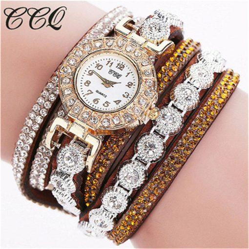Très Belle Montre Bracelet Pour Dames Avec Strass 2