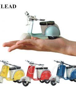 Scooter Rétro Vintage Fait Main Pour Décoration Intérieure ou Pour Cadeau