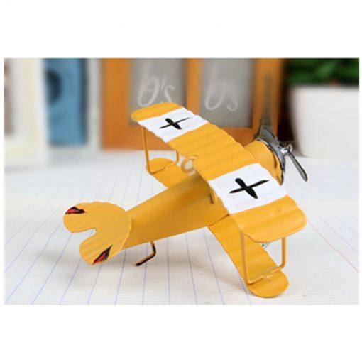 Avions Biplan Rétro Vintage Pour Décoration Intérieure Ou Cadeau 2