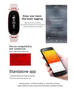 Smartwatch Élégante et Discrète 4